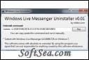 Windows Live Messenger Uninstaller